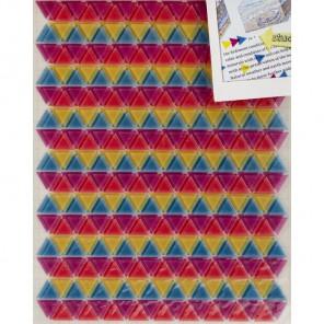 Неоновые треугольники Стикеры Smash ( Смэш ) для скрапбукинга K&Company