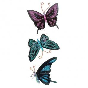 Бабочки 3D Стикеры для скрапбукинга, кардмейкинга EK Success