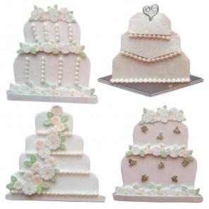 Свадебные торты 3D Стикеры для скрапбукинга, кардмейкинга EK Success