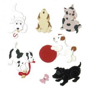 Собаки 3D Стикеры для скрапбукинга, кардмейкинга Ek Success