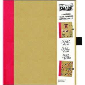 Красная Папка-скоросшиватель Смэшбук Smash K&Company