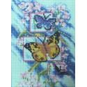Бабочки Алмазная вышивка (мозаика) Sophiebeauty