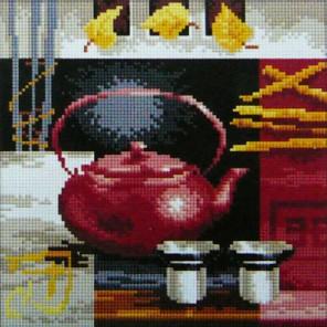Чайная церемония Алмазная вышивка (мозаика) Sophiebeauty