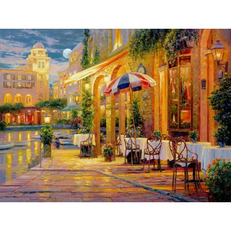 Теплый вечер Алмазная вышивка (мозаика) Гранни