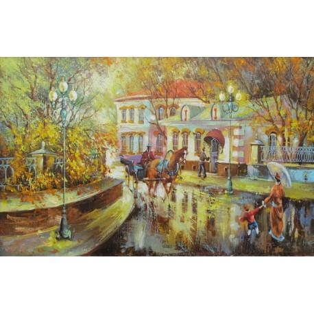 Городской пейзаж Алмазная вышивка (мозаика) Гранни