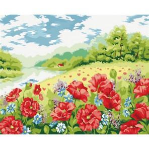 Дыхание лета Раскраска по номерам акриловыми красками на холсте Menglei