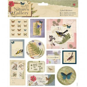 Nature's Gallery Наклейки для скрапбукинга, кардмейкинга Docrafts