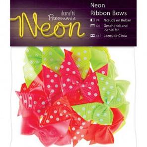 Neon Банты для скрапбукинга, кардмейкинга Docrafts