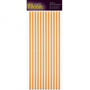 Neon Orange Полоски бордюры для скрапбукинга, кардмейкинга Docrafts