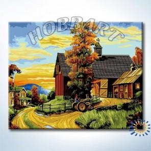 На ферме Раскраска по номерам акриловыми красками на холсте Hobbart