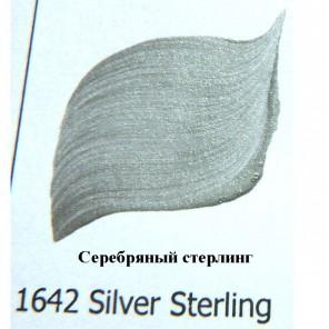 1642 Серебряный стерлинг Наружного применения Металлик Акриловая краска FolkArt Plaid