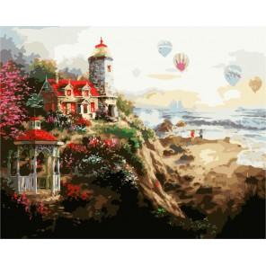 Очаровательное спокойствие ( художник Ники Боэм ) Раскраска (картина) по номерам акриловыми красками на холсте Menglei