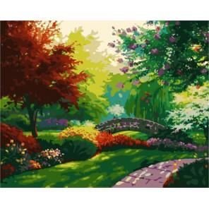 Красочный парк Раскраска (картина) по номерам акриловыми красками на холсте Menglei