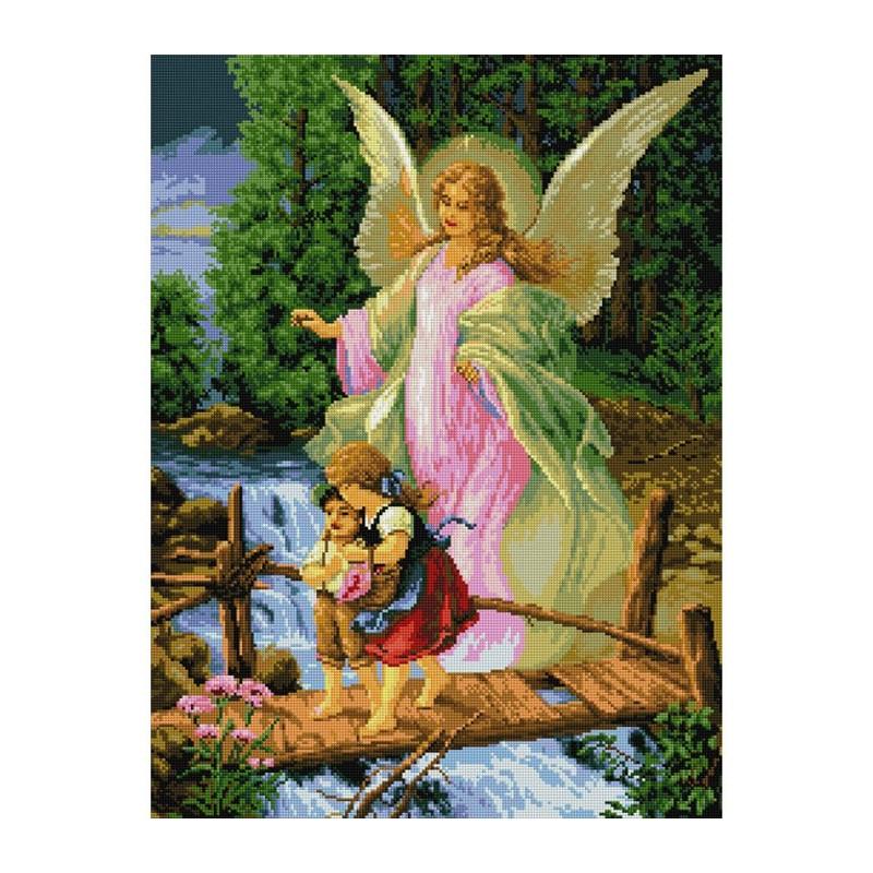 Ангел хранитель алмазная вышивка