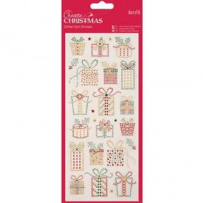 Рождественские подарки Create Christmas Стикеры для скрапбукинга, кардмейкинга Docrafts