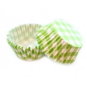 Клетка зеленая Набор бумажных форм для кексов Dolce Arti