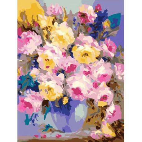 Нежное чудо ( художник Dzhanilyatii Antonio ) Раскраска (картина) по номерам акриловыми красками на холсте