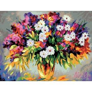 Красота цветов Алмазная вышивка (мозаика) Molly