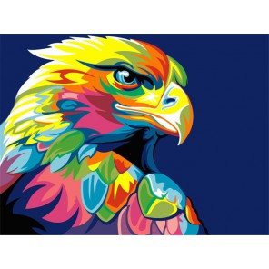Радужный орел Алмазная вышивка (мозаика) Гранни