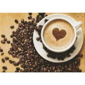 Кофе для нее Алмазная вышивка (мозаика) Гранни