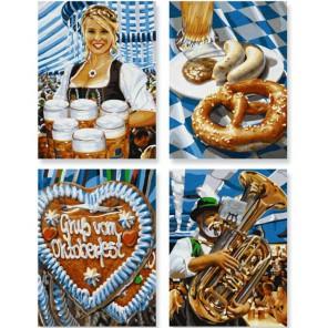 Октоберфест в Мюнхене Раскраски по номерам акриловыми красками Schipper (Германия)