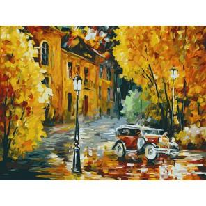 Город просыпается Раскраска ( картина ) по номерам акриловыми красками на холсте Белоснежка