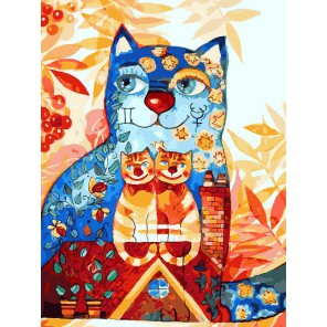 Близнецы Раскраска ( картина ) по номерам акриловыми красками на холсте Белоснежка