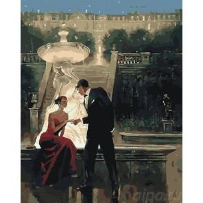 Романтика в сумерках (художник Брент Линч) Раскраска по номерам акриловыми красками на холсте Живопись по номерам