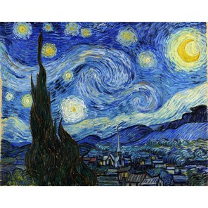 Звездная ночь Алмазная вышивка (мозаика) Гранни