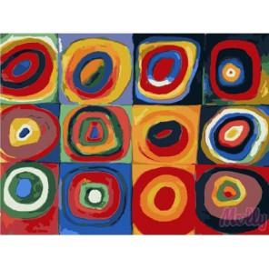 Дизайн Раскраска (картина) по номерам акриловыми красками на холсте Molly