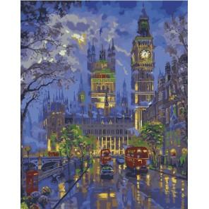 Вестминстерский дворец Раскраска (картина) по номерам на холсте Menglei