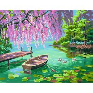 Весенняя красота Раскраска (картина) по номерам акриловыми красками Dimensions