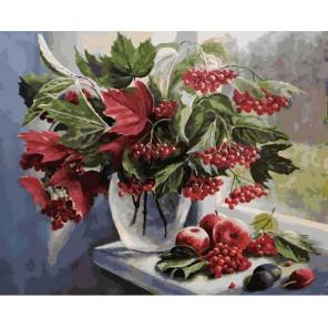 Август Раскраска ( картина ) по номерам акриловыми красками на холсте Белоснежка
