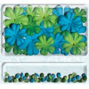 Цветы с брадсами Набор K&Company