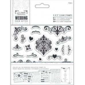 Узоры Wedding Штампы для скрапбукинга, кардмейкинга Docrafts