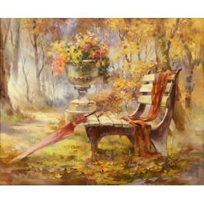 Таинственный парк Раскраска (картина) по номерам акриловыми красками на холсте Menglei