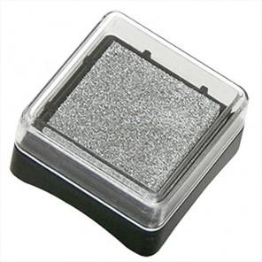 Серебро Штемпельная подушечка Inc Pads mini (чернила на масляной основе) Heyda