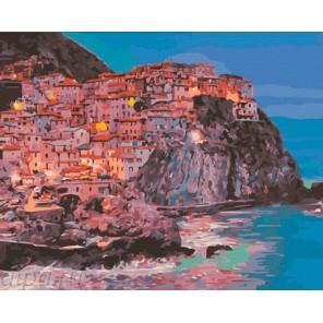 Сказочная Манарола Раскраска ( картина ) по номерам акриловыми красками на холсте Iteso