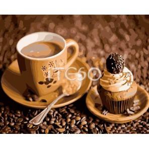 Кофейный вкус Раскраска ( картина ) по номерам акриловыми красками на холсте Iteso