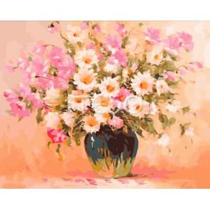 Летняя композиция Раскраска ( картина ) по номерам акриловыми красками на холсте Iteso