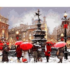 Прогулка по Лондону Раскраска ( картина ) по номерам акриловыми красками на холсте Iteso