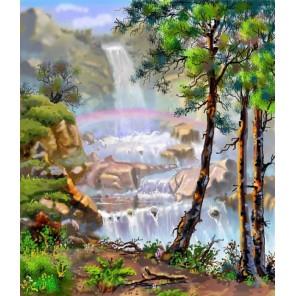 Сказочный лес Алмазная вышивка (мозаика) Цветной
