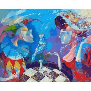 Партия или вся жизнь игра Раскраска ( картина ) по номерам акриловыми красками на холсте Белоснежка