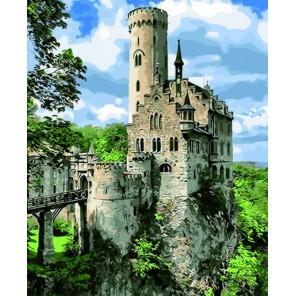 Рыцарский замок Раскраска по номерам акриловыми красками на холсте Color Kit