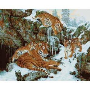 Династия (художник Бэт Хозелтон) Раскраска картина по номерам акриловыми красками Plaid