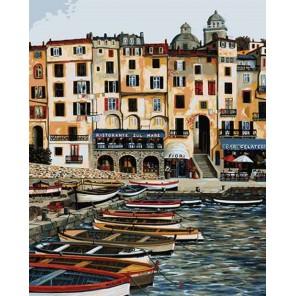 Вид на виллу Раскраска картина по номерам акриловыми красками Plaid | Купить раскраски по номерам