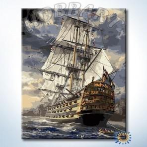 Экскалибур Раскраска картина по номерам акриловыми красками на холсте Hobbart