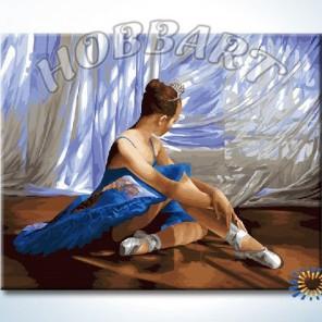 Балет Раскраска картина по номерам акриловыми красками на холсте Hobbart