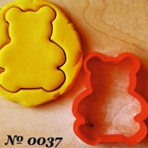 Мишка Форма для вырезания печенья и пряников