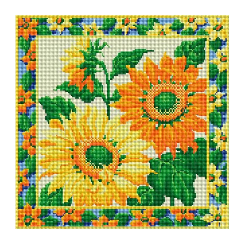 Белоснежка вышивка мозаика